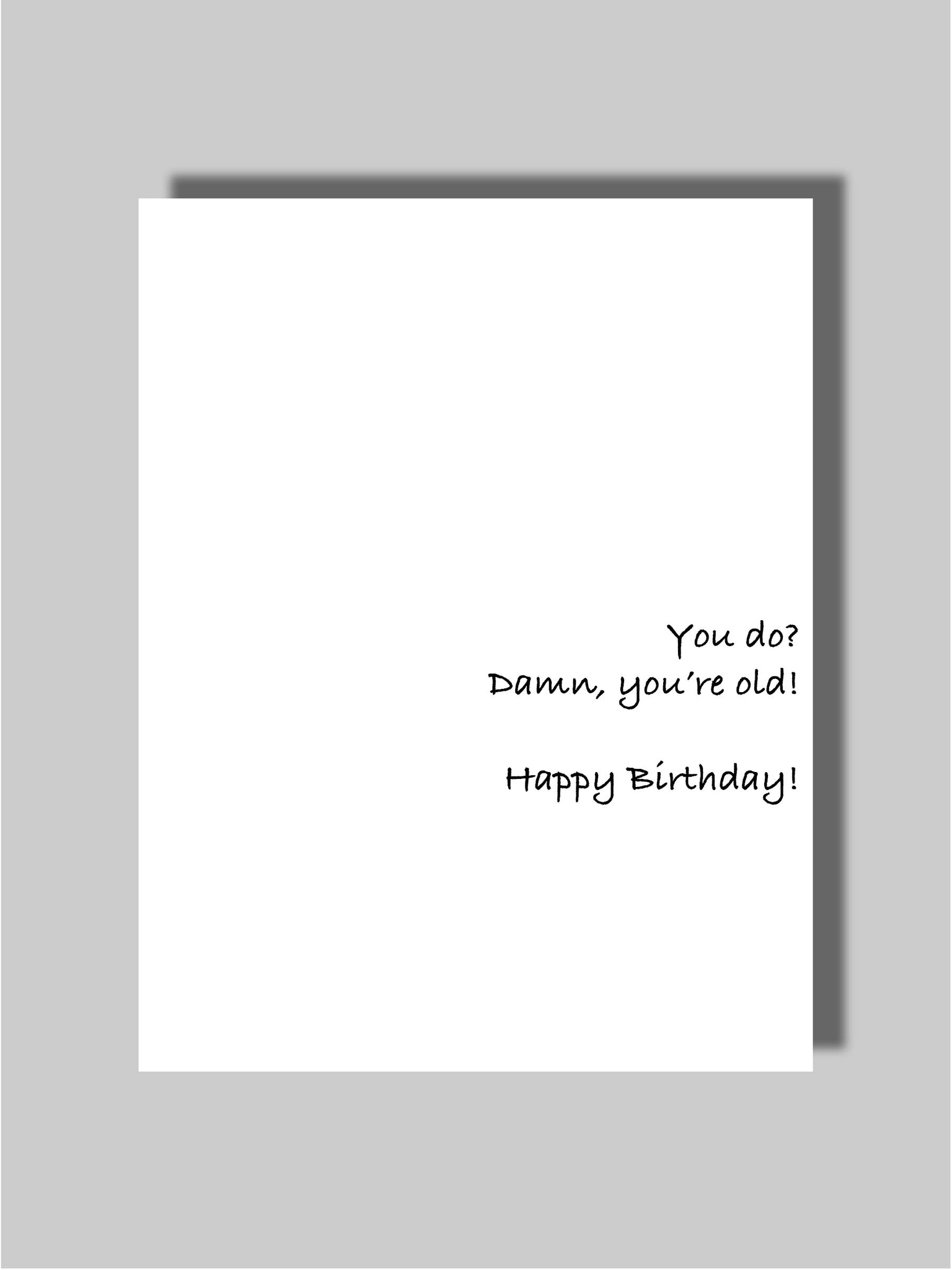 Birthday Card Two