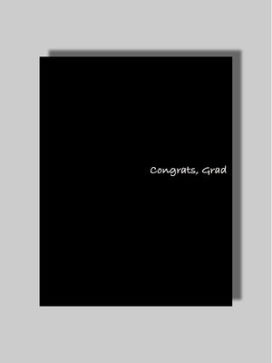 Congrats/Grad Card Two