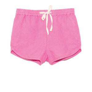 Heavy Linen Short Pink