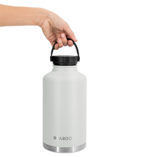 Load image into Gallery viewer, PARGO - INSULATED WATER BOTTLE  BONE WHITE 1890 ML