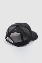 Load image into Gallery viewer, WNDRR TRADEMARK TRUCKER CAP BLACK