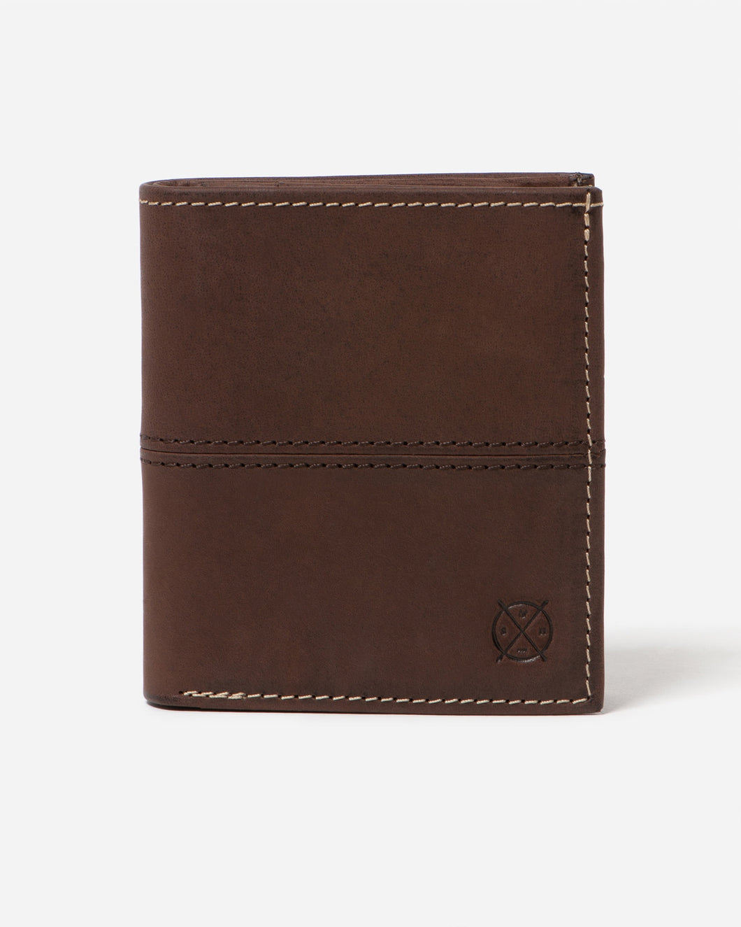 STITCH & HIDE - BERNARD WALLET BROWN