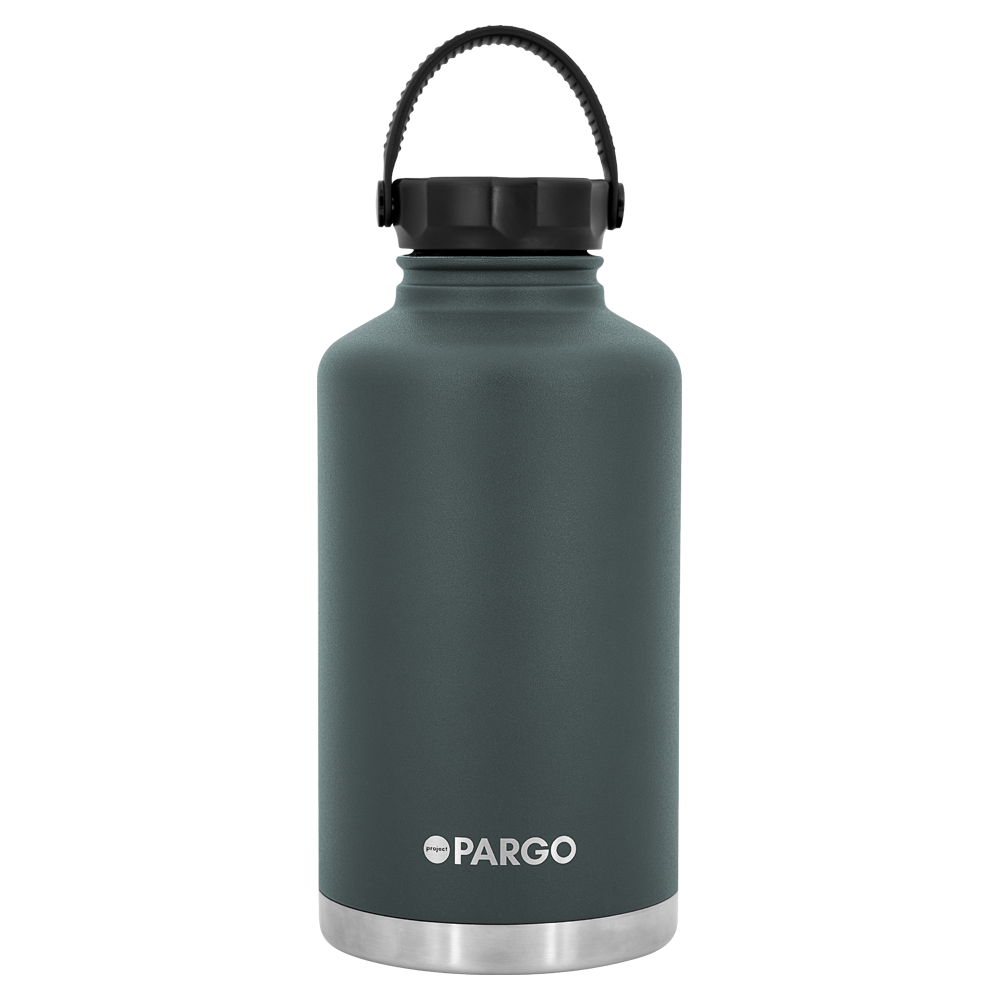 PARGO - INSULATED WATER BOTTLE  BBQ CHARCOAL 1890 ML
