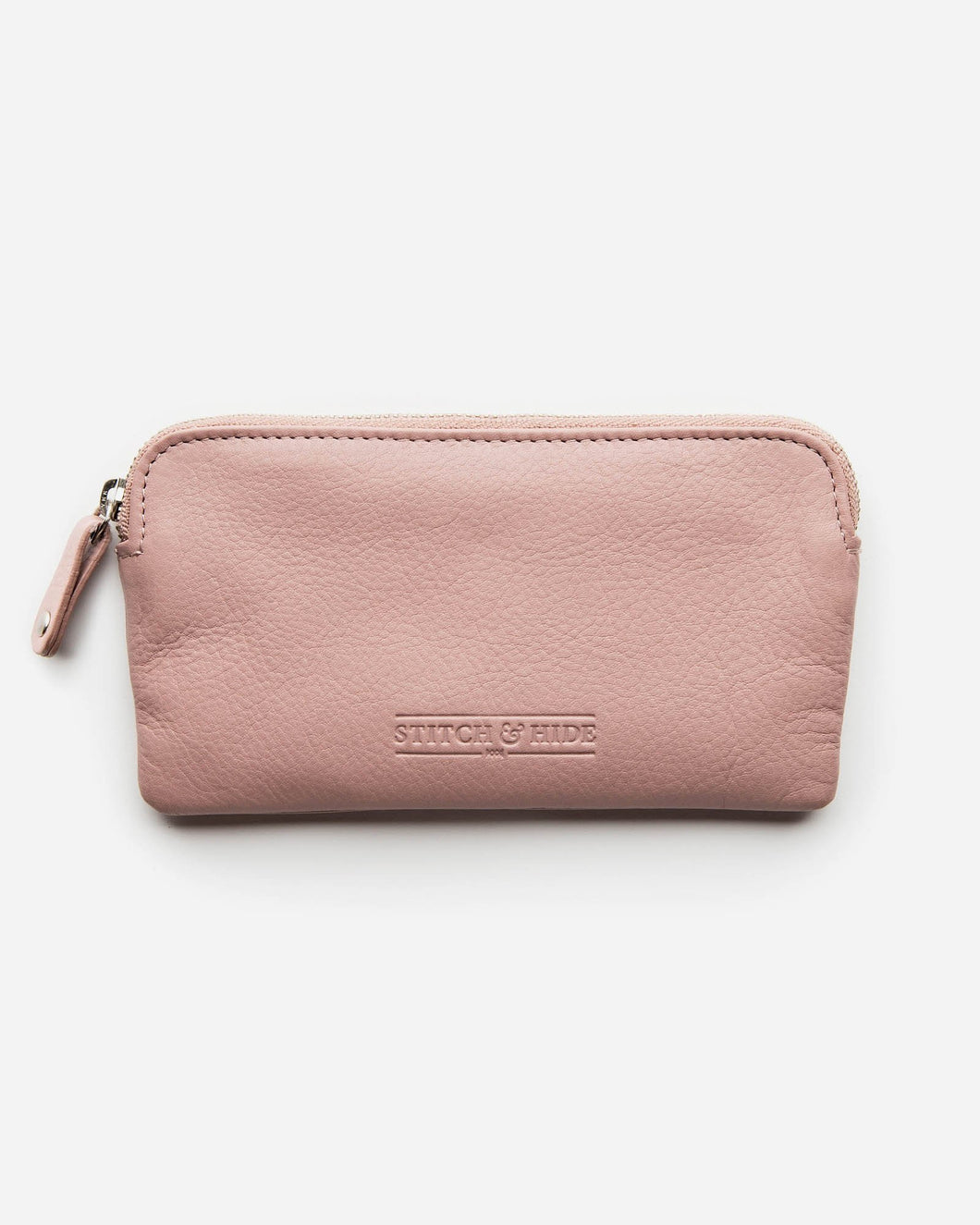 STITCH & HIDE - LUCY POUCH DUSTY ROSE
