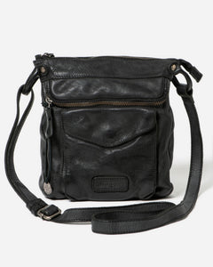 STITCH & HIDE - VENICE BAG BLACK