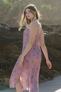 DREAMERS & DRIFTERS - MIDI DRESS LOVE STORY - LILAC