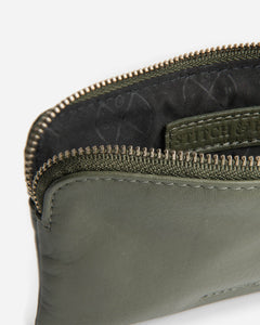 STITCH & HIDE - LUCY POUCH OLIVE