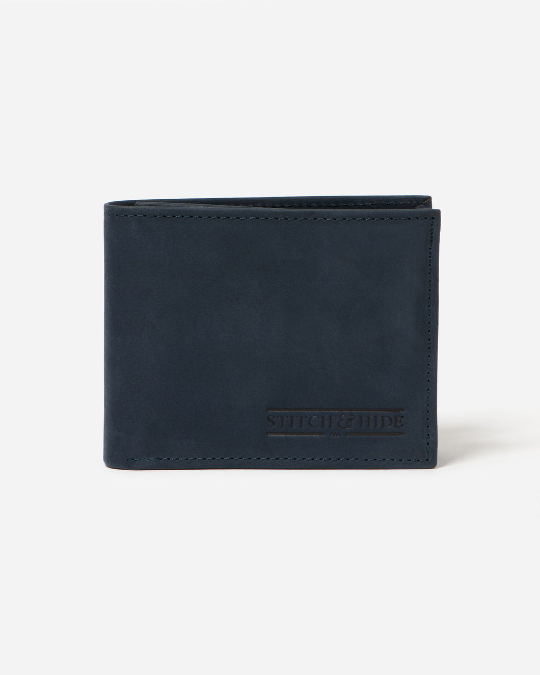 STITCH & HIDE - CASPER WALLET NAVY