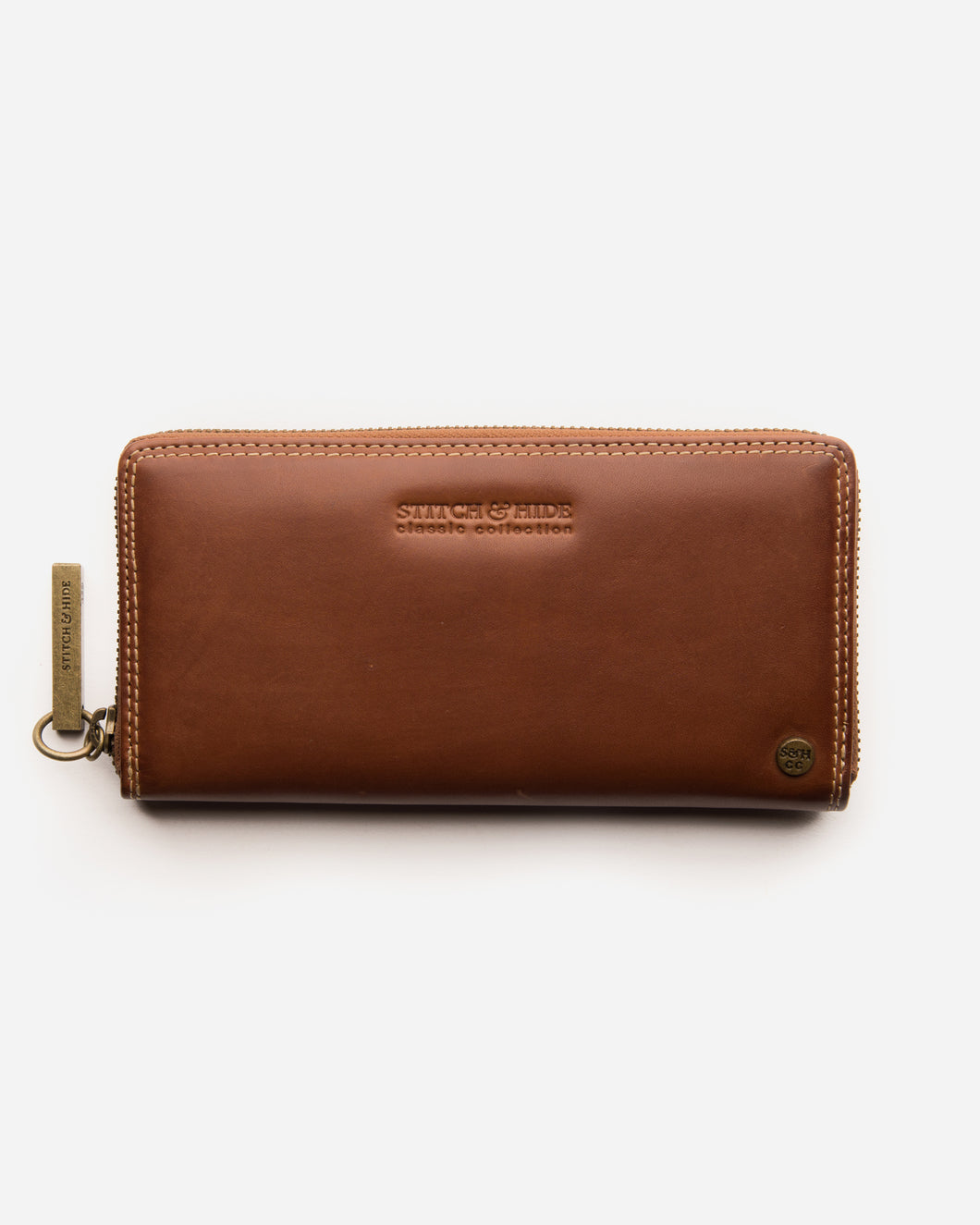 STITCH & HIDE - CHRISTINA CLASSIC WALLET MAPLE