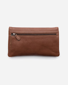 STITCH & HIDE - DARCY WALLET CLAY
