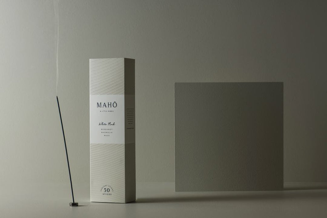 MAHO - WHITE MUSK INCENSE STICKS