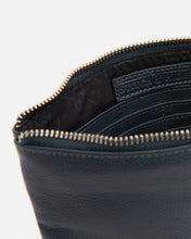 Load image into Gallery viewer, STITCH & HIDE - CASSIE CLASSIC CLUTCH - DEEPSEA