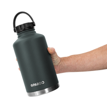 Load image into Gallery viewer, PARGO - INSULATED WATER BOTTLE  BBQ CHARCOAL 1890 ML