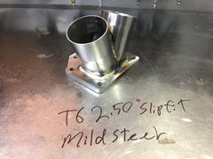 T6 mild steel open collector 2.50""
