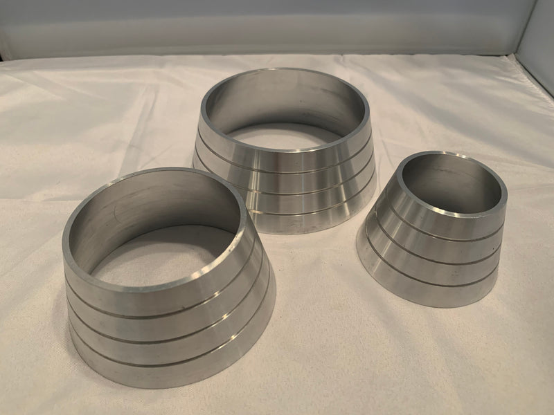 Billet Cone Reducer (Stainless & Aluminum)