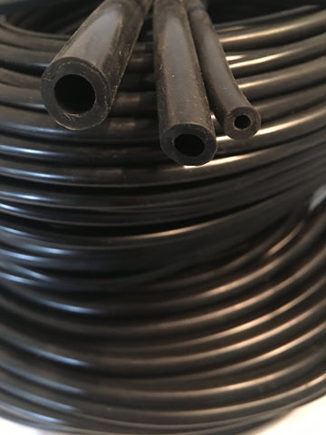 Silicone hose, Black, 10 Feet