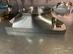 "T6 to 3.00"" tube billet turbo transition flange"