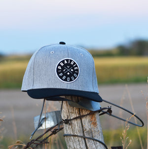 Kids - Axle Snapback - Heather Grey / Black