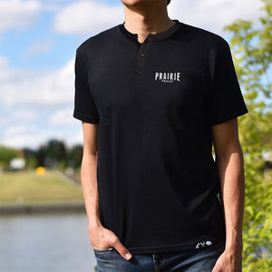 Mens - Prairie Henley - Black
