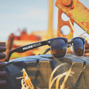 Unisex - Vintage Sunglasses - Black