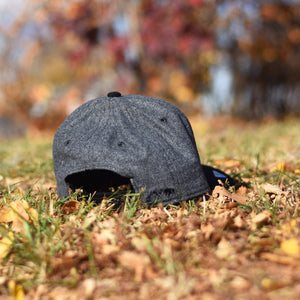 Kids - Axle Snapback - Heather Charcoal / Black