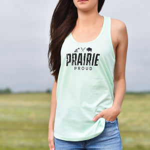 Ladies - Tailgate Racerback - Mint