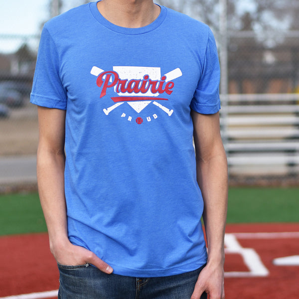 Unisex - Home Run Crew T - Blue