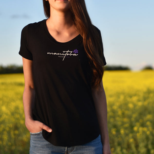 Ladies - Manitoba 5.0 Scoop T - Black