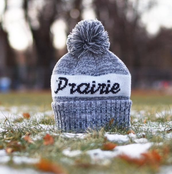 Unisex - Prairie Pom - White / Heather Grey
