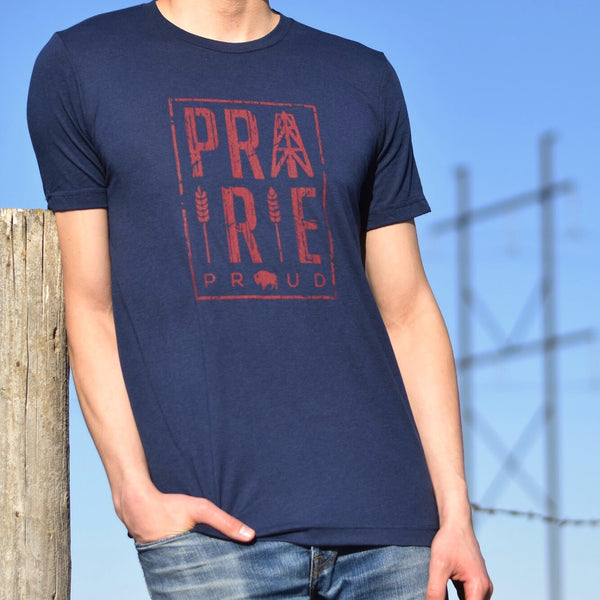 Unisex - Plains Crew T - Navy