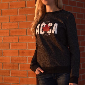 Unisex - Alberta 4.0 Crew Sweater - Heather Charcoal