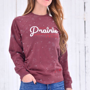Ladies - Railway Crew Sweater - Rosewood