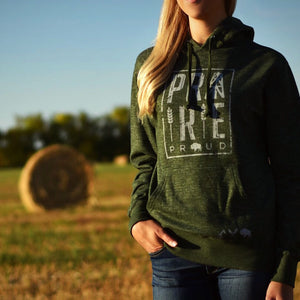 Unisex - Plains Hood - Heather Forest