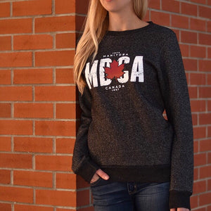 Unisex - Manitoba 4.0 Crew Sweater - Heather Charcoal