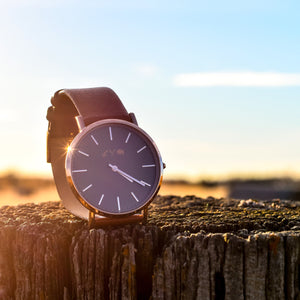 Unisex - Icon Watch - Rose / Brown