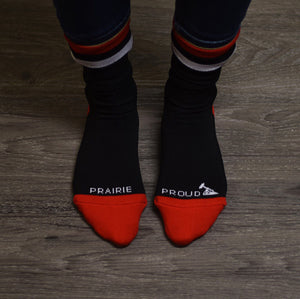 Unisex - Alberta 4.0 Socks - Black / Red