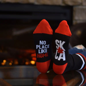 Unisex - Sask 4.0 Socks - Black / Red