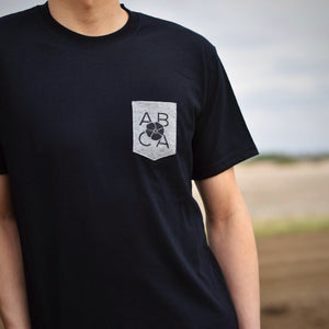 Mens - Alberta 3.0 Pocket T - Black / Gray