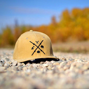 Unisex - Barb Wire Snapback - Sand