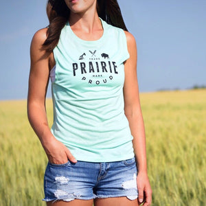 Ladies - Range 2.0 Muscle Tank - Mint