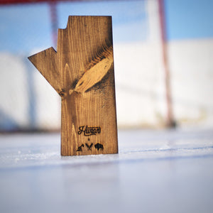 Unisex - Manitoba 4.0 Block - Dark Stained Wood