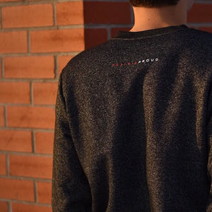 Unisex - Sask 4.0 Crew Sweater - Heather Charcoal