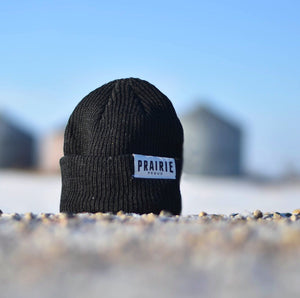 Unisex - Prairie Slouch / Beanie - Heather Charcoal