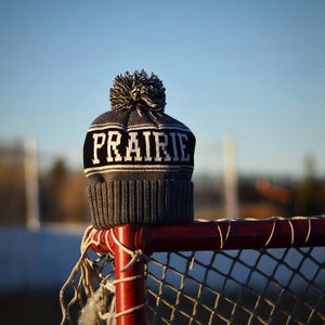Unisex - Prairie Pom - Black / Grey / White