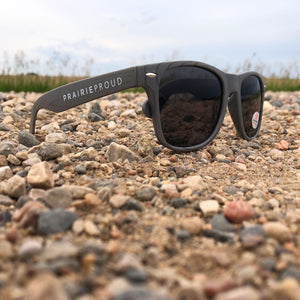 Unisex - Prairie Sunglasses - Grey Woodgrain