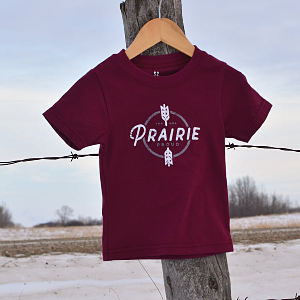 Kids - Harvest Crew T - Cranberry