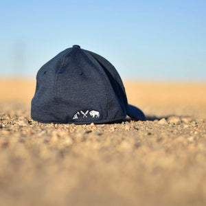 Unisex - Prairie Fitted - Navy w/ White