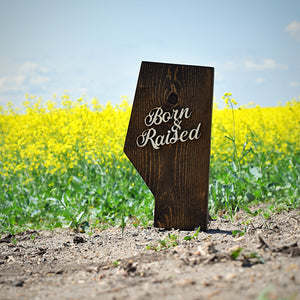 Unisex - B&R Alberta Block - Dark Stained Wood