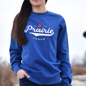 Unisex - Slo-Pitch Crew Sweater - Heather Royal