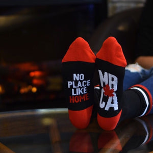 Unisex - Manitoba 4.0 Socks - Black / Red